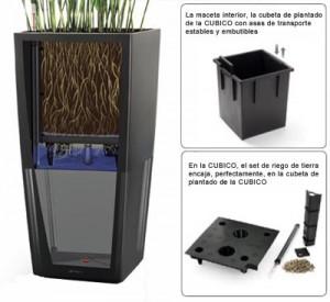 Maceteros autorriego macetas jardineras y maceteros - Macetas interior ...