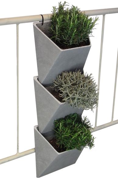 Macetas para balcones macetas jardineras y maceteros - Maceteros colgantes para balcones ...