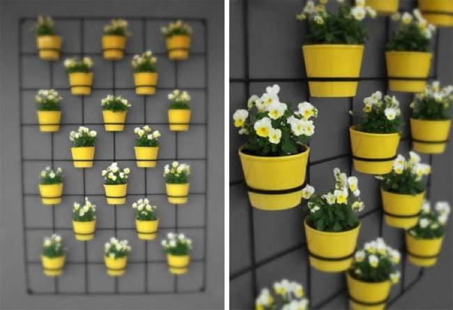 Macetas para balcones macetas jardineras y maceteros for Reja para jardin vertical