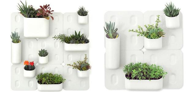 Jardines verticales macetas jardineras y maceteros for Materas para jardines verticales