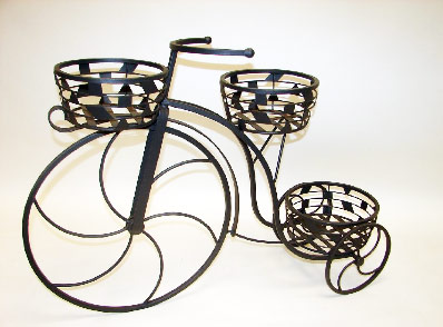 Maceteros para bicicletas macetas jardineras y maceteros - Bicicleta macetero ...