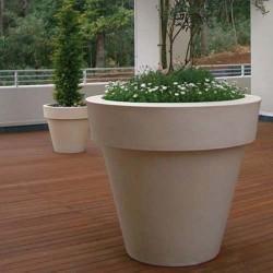 Maceteros para exterior macetas jardineras y maceteros - Macetas de plastico grandes y baratas ...