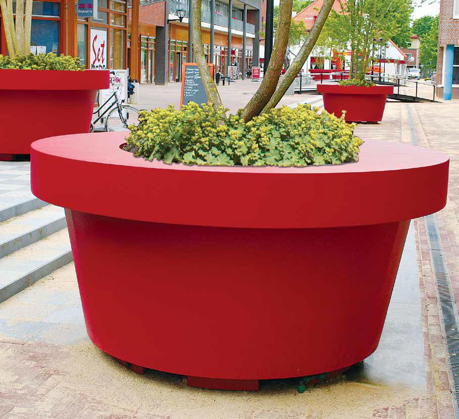 Macetero para rboles macetas jardineras y maceteros - Maceteros plasticos grandes ...